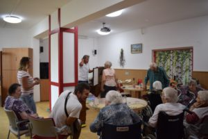 Přednáška v Senior Centrum Skuteč